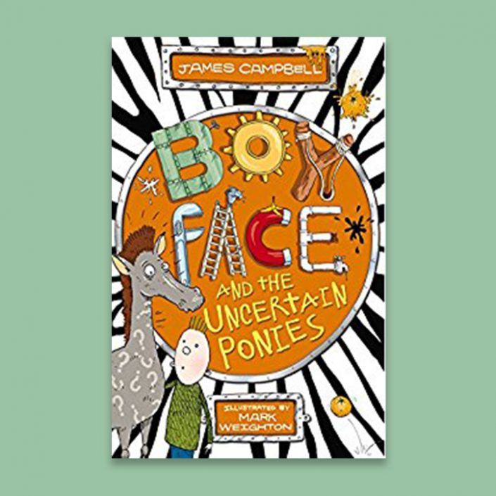Boy Face and the Uncertain Ponies by James Campbell